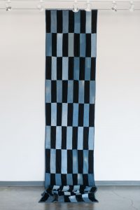 Black & Blue (quilt for a single person)